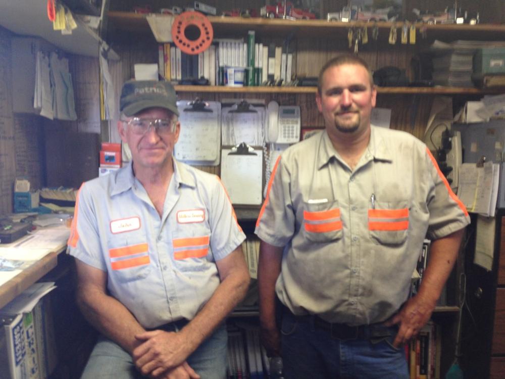 John Miller (left)